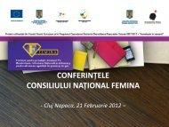 vezi aici detalii despre conferinţă (.pdf) - Ziua de Cluj