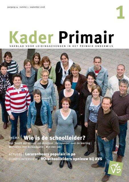 Kader Primair 1 (2008-2009). - Avs