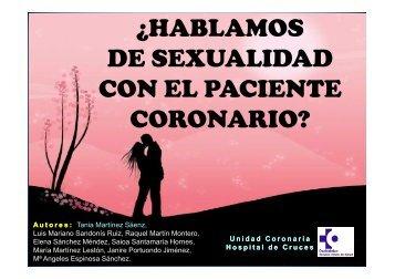 Sexualidad con el paciente Coronario - EXTRANET - Hospital ...