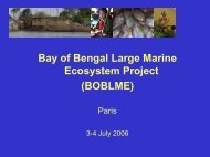 Bay of Bengal Large Marine Ecosystem Project