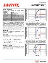 Technical Data Sheet - Loctite