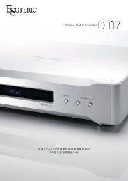 首部32位元、雙DAC支援USB輸入24bit/96K D/A Converter