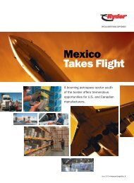 Mexico Takes Flight - Inbound Logistics