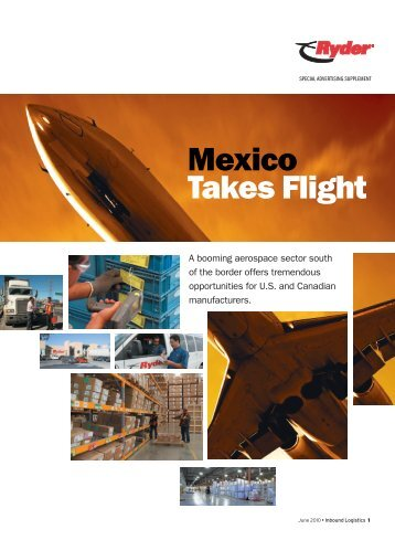 Mexico Takes Flight - Inbound Logistics