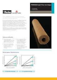 ProBond depth Filter Cartridges - Hyxo