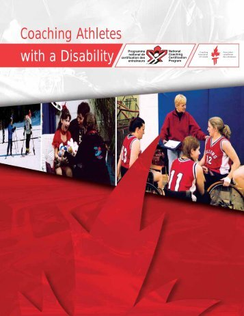 Coaching Athletes with a Disability - Coaching Association of Canada