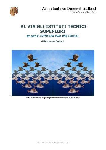 Al via gli Istituti Tecnici Superiori - Robertostefanoni.it