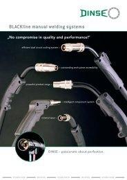 BLACKline manual welding systems - Dinse-gmbh.com