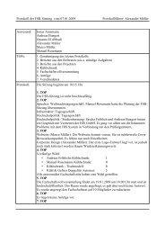 Protokoll der FSR-Sitzung vom 07.01.2009 Protokollführer ... - FSE
