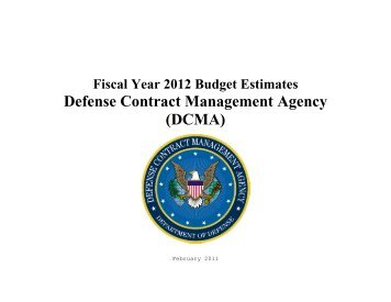 Defense Contract Management Agency (DCMA) - Comptroller