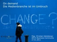 Christian Adelsberger (evolaris) - E-Business-Community - APA
