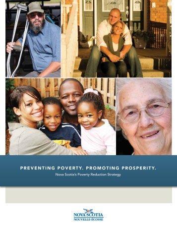 preventing poverty. promoting prosperity. - Government of Nova Scotia
