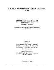 EROSION AND SEDIMENTATION CONTROL PLAN 3375 Mitchell ...