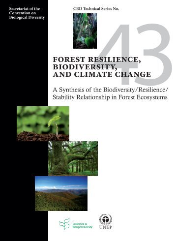 Forest Resilience, Biodiversity, and Climate Change: a synthesis of ...