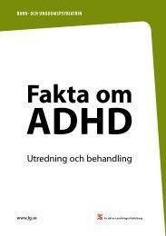 Adhd - Landstinget Gävleborg