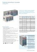 Fontes de alimentação chaveadas Linha CP - APE Distribuidor ABB - Page 7
