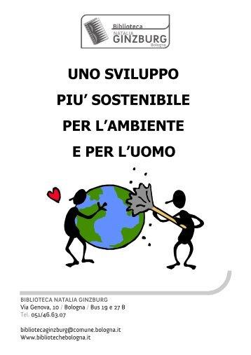 Sviluppo sostenibile - Comune di Bologna