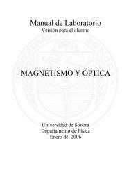 Introducción - Departamento de Física - Universidad de Sonora