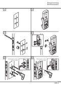 Montageanleitung Installation instructions Garnituren mit ... - HEWI - Seite 3