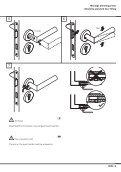 Montageanleitung Installation instructions Garnituren mit ... - HEWI - Seite 5