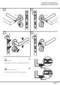 Montageanleitung Installation instructions Garnituren mit ... - HEWI - Seite 7
