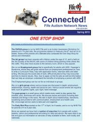 Connected! Fife Autism Network News - Home Page