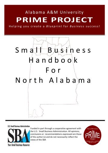 Small Business Guide - Welcome to Alabama A&M University