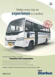 Starbus 32-Seater - Buses - Tata Motors