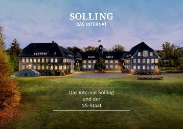 Das Internat in der NS-Zeit - Internat Solling