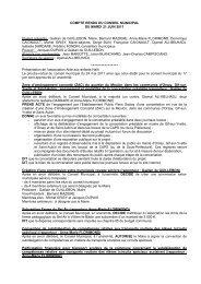 Compte rendu du 21 juin - Saint-Aubin