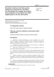 Plan d'action de Carthagène 2010-2014 - ICRC