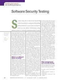 Software Security Testing - Cigital