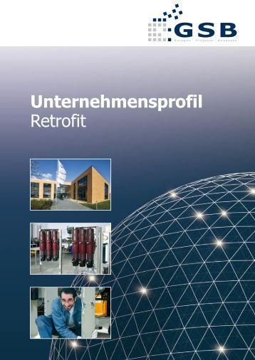 Unternehmensprofil Retrofit - GSB mbH & Co. KG