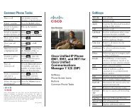 Cisco Unified IP Phone 8961, 9951, and 9971 Quick Reference for ...