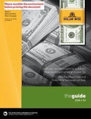 DOLLAR WI$E || The Guide | 2008 > 09 - U.S. Conference of Mayors