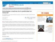 Estrategias creativas de la publicidad en Internet - Universidad ...