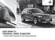 E84 DE Titel.indd - BMW Diplomatic Sales