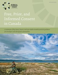 Free, Prior, and Informed Consent in Canada FPIC