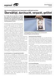 augenauf-Bulletin 65