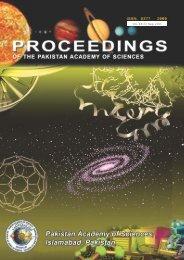 Download Full Journal - Pakistan Academy of Sciences