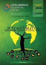 SuStainabilitytO SuStainabilityto - Latin America Geospatial Forum