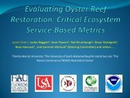 The Oyster Habitat Restoration Monitoring and Assessment Manual