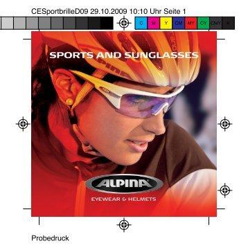 SPORTS AND SUNGLASSES - Alpina