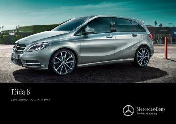 Třída B - Mercedes-Benz PRAHA