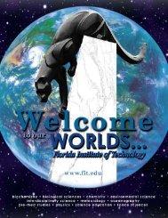 Undergraduate Brochure - College of Science - Florida Institute of ...