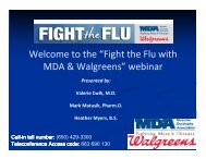 Fight the Flu with MDA & Walgreens - Muscular Dystrophy Association