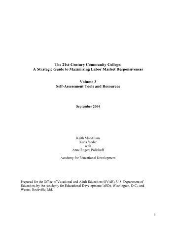 A Strategic Guide to Maximizing Labor Market ... - ED Pubs