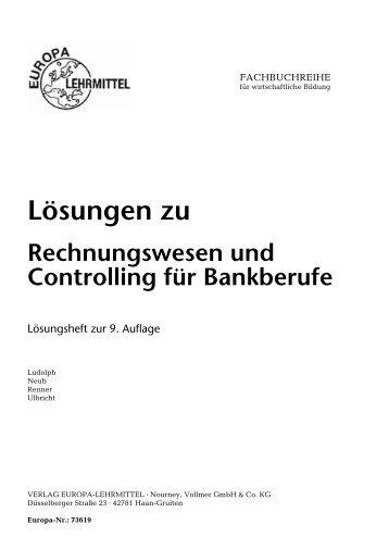 Rechnungswesen Bankauszubildende Fs Fachbuch