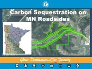 Carbon Sequestration on Interstate ROWs Pilot Program