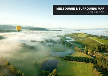 MELBOURNE & SURROUNDS MAP - Destination Melbourne